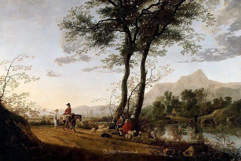 他的画,有些牛!17世纪荷兰黄金时期杰出的风景画家插图69