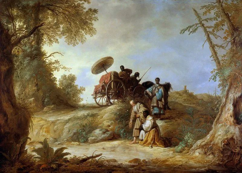 他的画,有些牛!17世纪荷兰黄金时期杰出的风景画家插图73