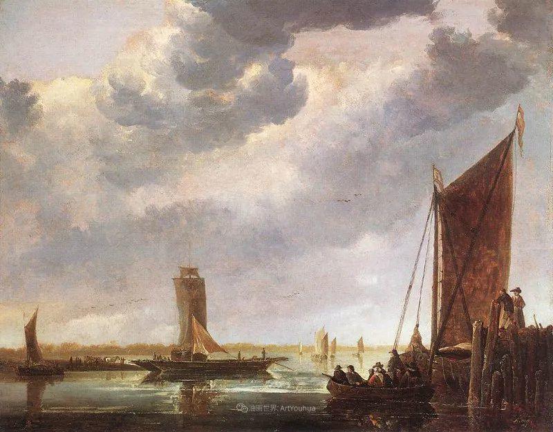 他的画,有些牛!17世纪荷兰黄金时期杰出的风景画家插图79