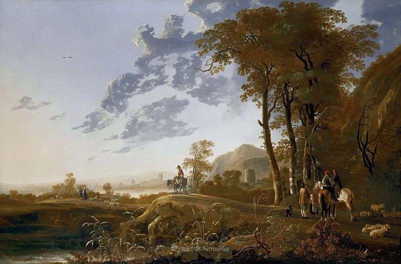 他的画,有些牛!17世纪荷兰黄金时期杰出的风景画家插图85