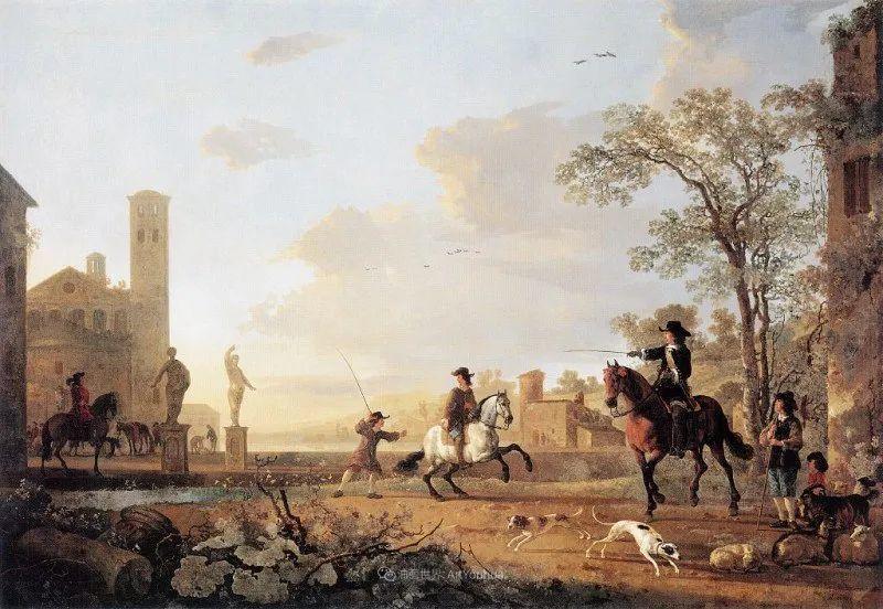 他的画,有些牛!17世纪荷兰黄金时期杰出的风景画家插图87