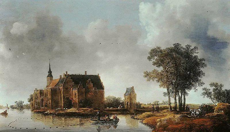 他的画,有些牛!17世纪荷兰黄金时期杰出的风景画家插图91