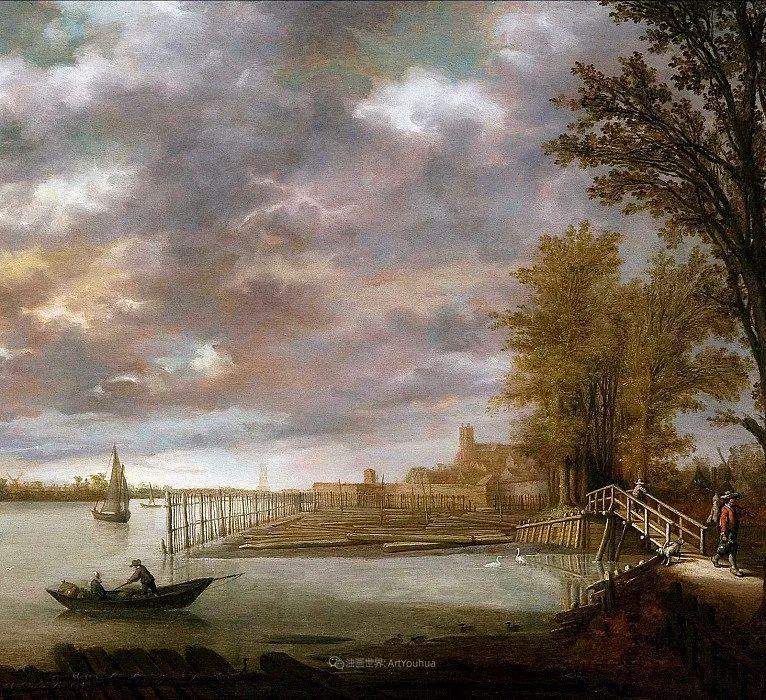 他的画,有些牛!17世纪荷兰黄金时期杰出的风景画家插图99