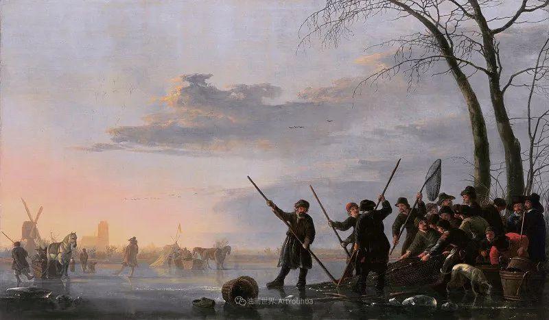 他的画,有些牛!17世纪荷兰黄金时期杰出的风景画家插图101