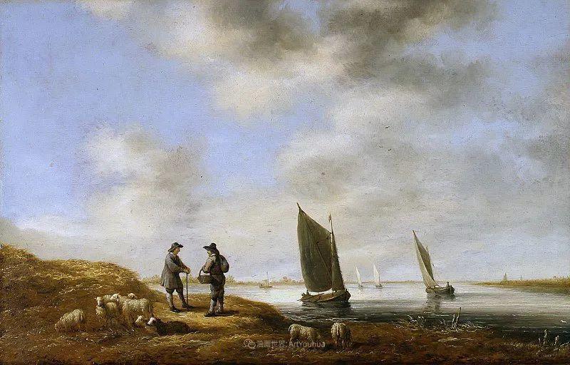 他的画,有些牛!17世纪荷兰黄金时期杰出的风景画家插图103