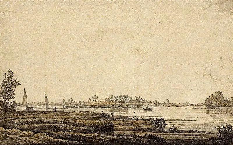 他的画,有些牛!17世纪荷兰黄金时期杰出的风景画家插图105