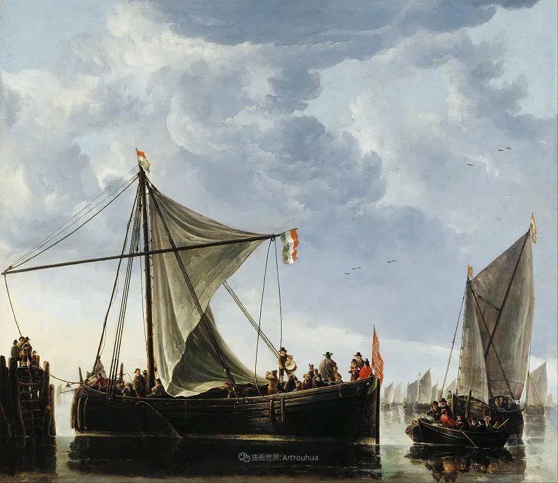 他的画,有些牛!17世纪荷兰黄金时期杰出的风景画家插图119