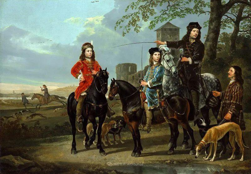 他的画,有些牛!17世纪荷兰黄金时期杰出的风景画家插图125