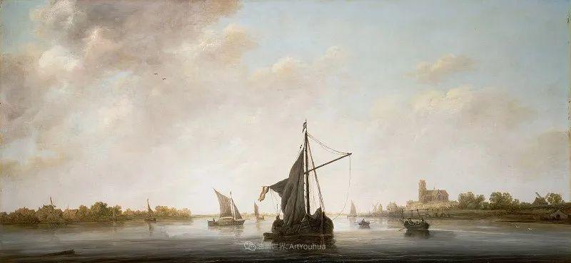 他的画,有些牛!17世纪荷兰黄金时期杰出的风景画家插图133