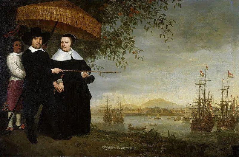 他的画,有些牛!17世纪荷兰黄金时期杰出的风景画家插图135
