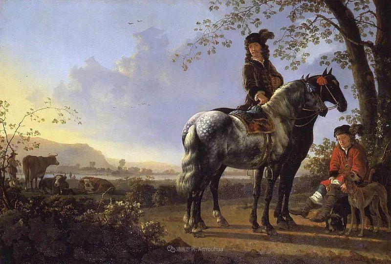 他的画,有些牛!17世纪荷兰黄金时期杰出的风景画家插图149