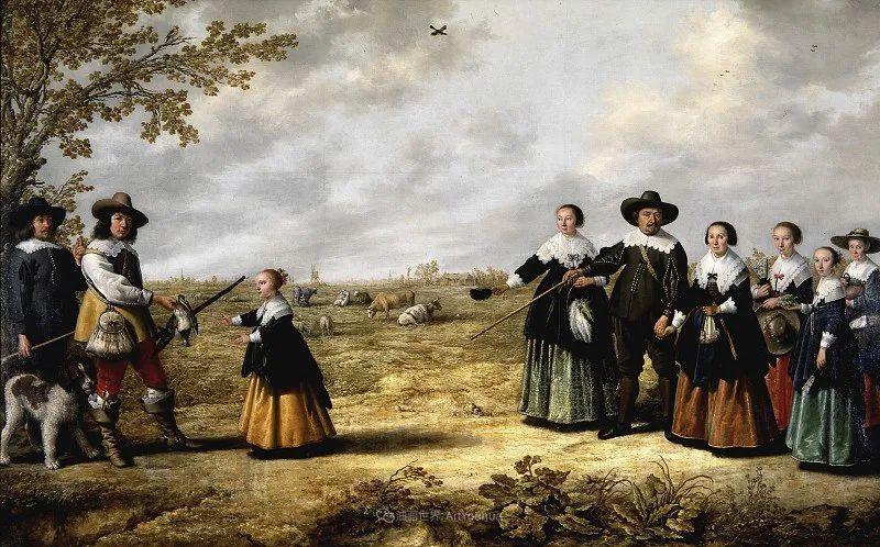他的画,有些牛!17世纪荷兰黄金时期杰出的风景画家插图151