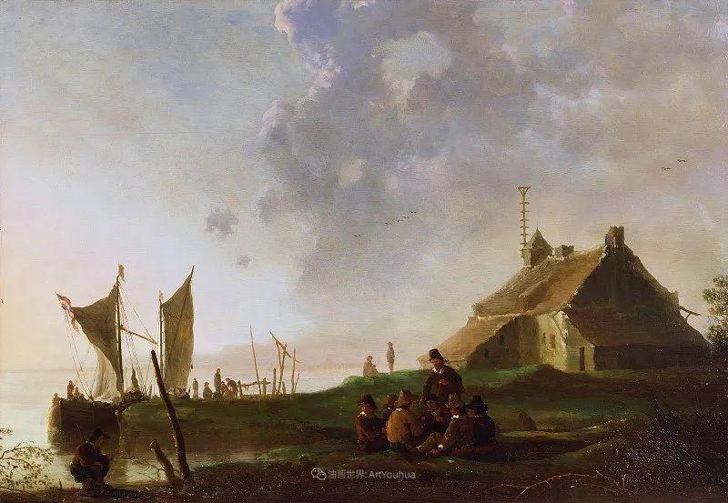 他的画,有些牛!17世纪荷兰黄金时期杰出的风景画家插图169