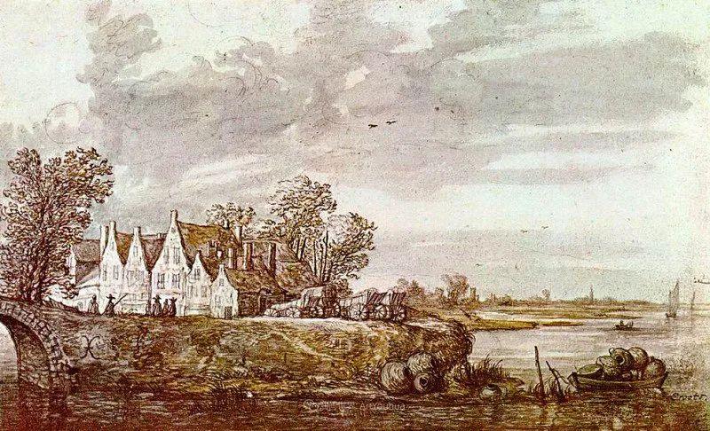 他的画,有些牛!17世纪荷兰黄金时期杰出的风景画家插图183