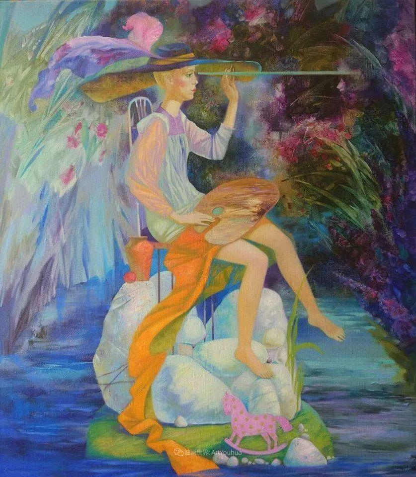 浪漫的场景,不寻常的肖像和静物!插图109