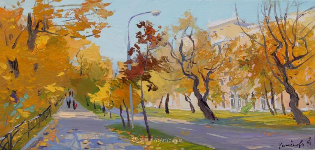 大笔触,美丽的俄罗斯风景画!插图15