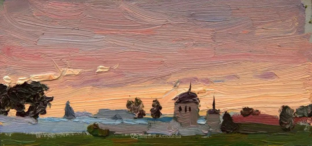 大笔触,美丽的俄罗斯风景画!插图29