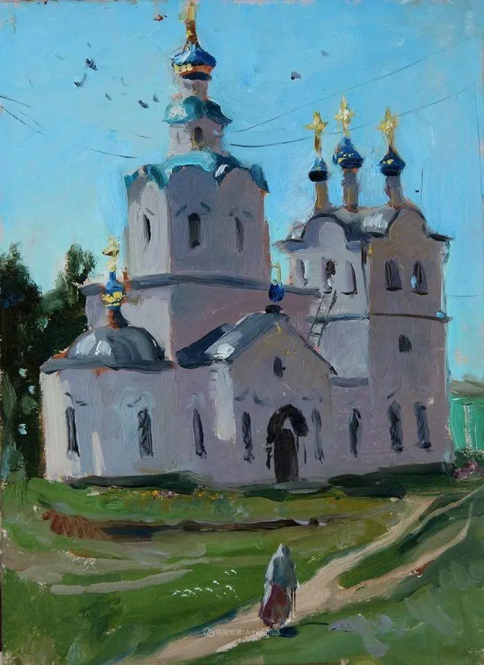 大笔触,美丽的俄罗斯风景画!插图45
