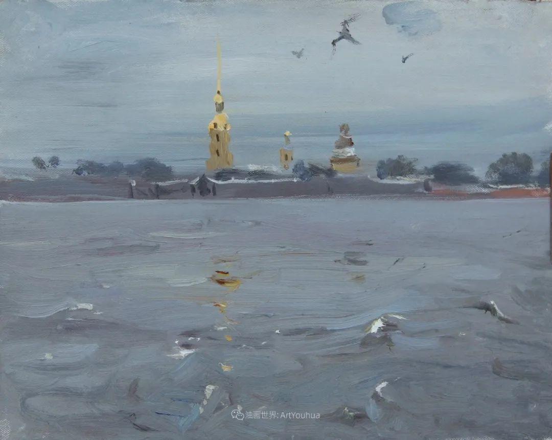 大笔触,美丽的俄罗斯风景画!插图47