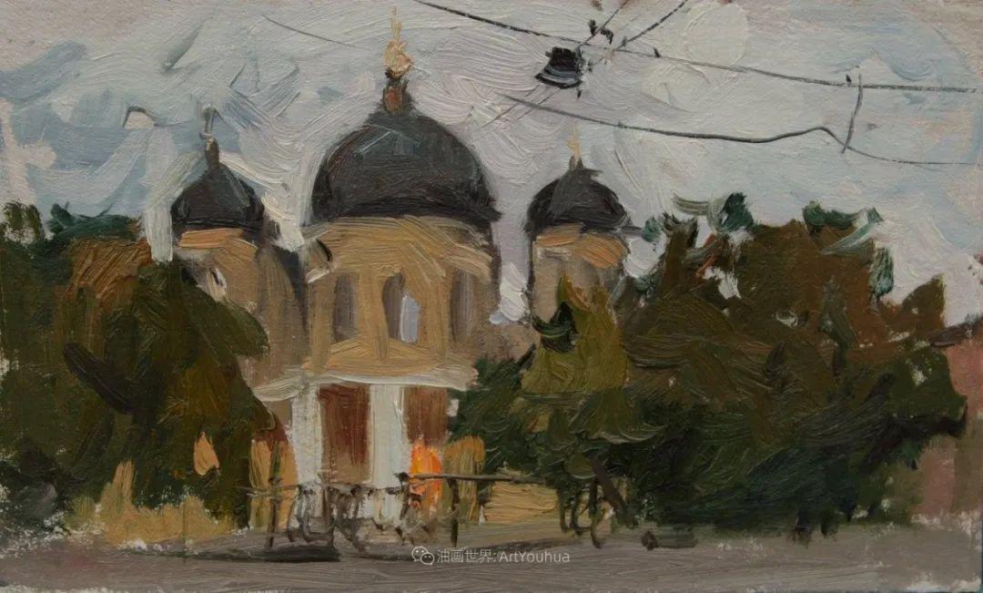 大笔触,美丽的俄罗斯风景画!插图63