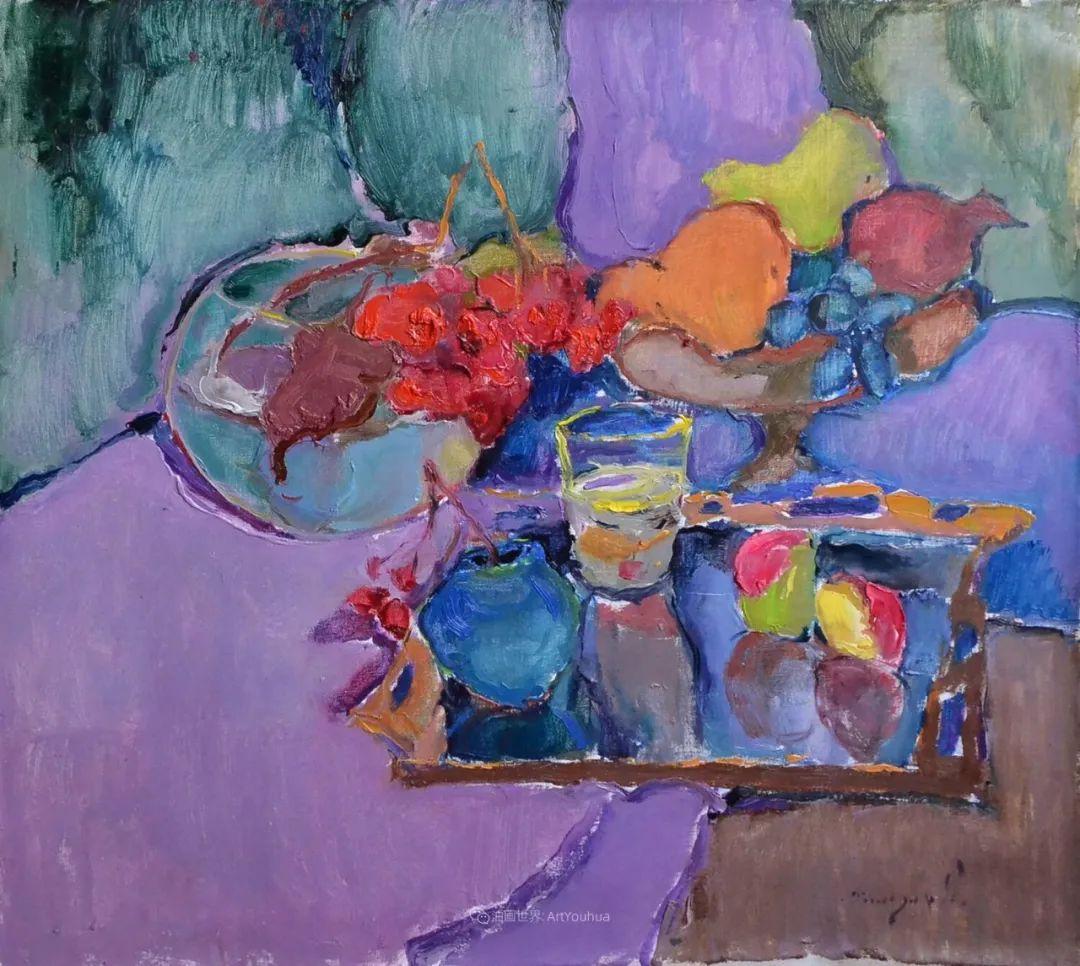 迷人的色彩,冷暖的碰撞,静物与花卉!插图7