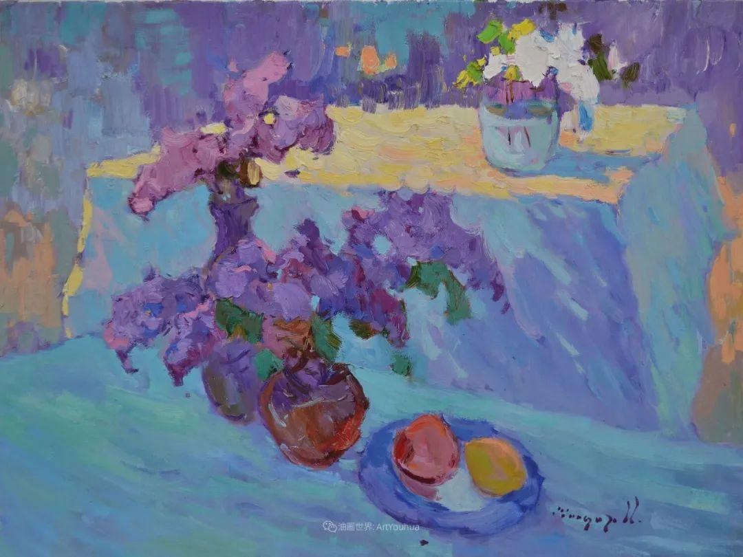 迷人的色彩,冷暖的碰撞,静物与花卉!插图35