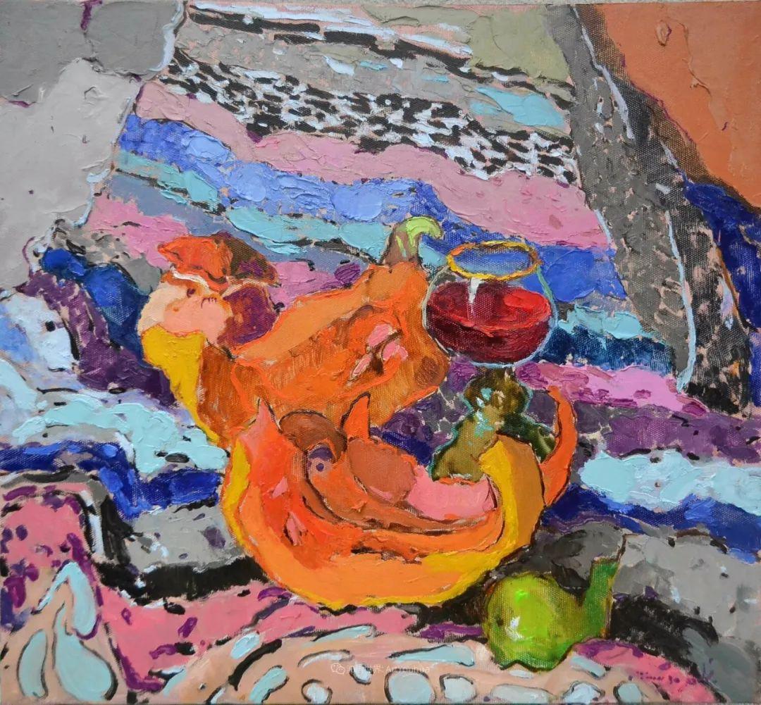 迷人的色彩,冷暖的碰撞,静物与花卉!插图49