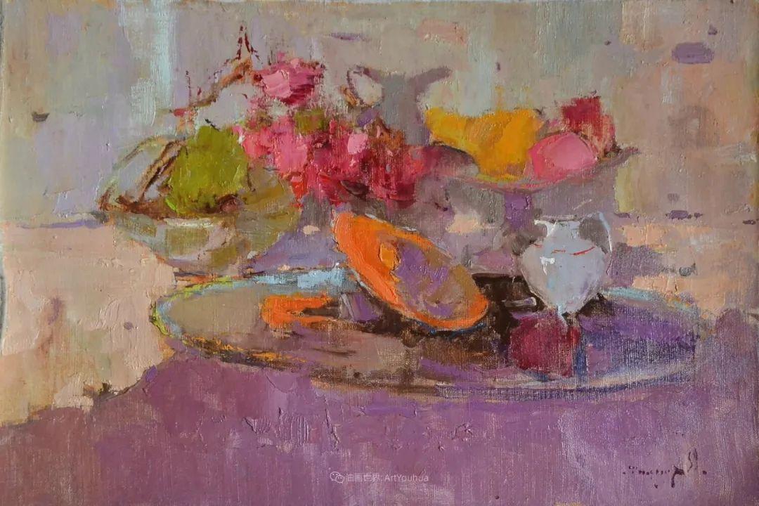 迷人的色彩,冷暖的碰撞,静物与花卉!插图57