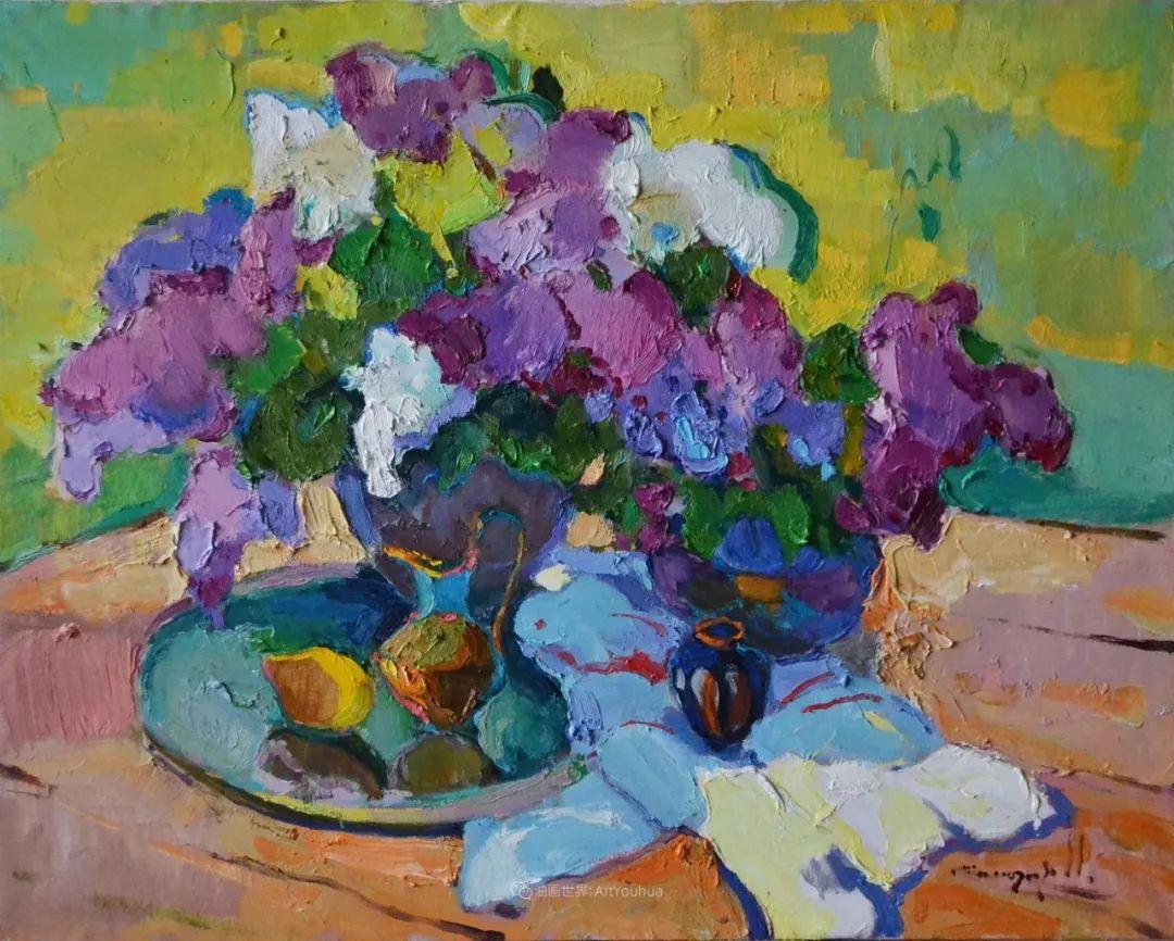 迷人的色彩,冷暖的碰撞,静物与花卉!插图95
