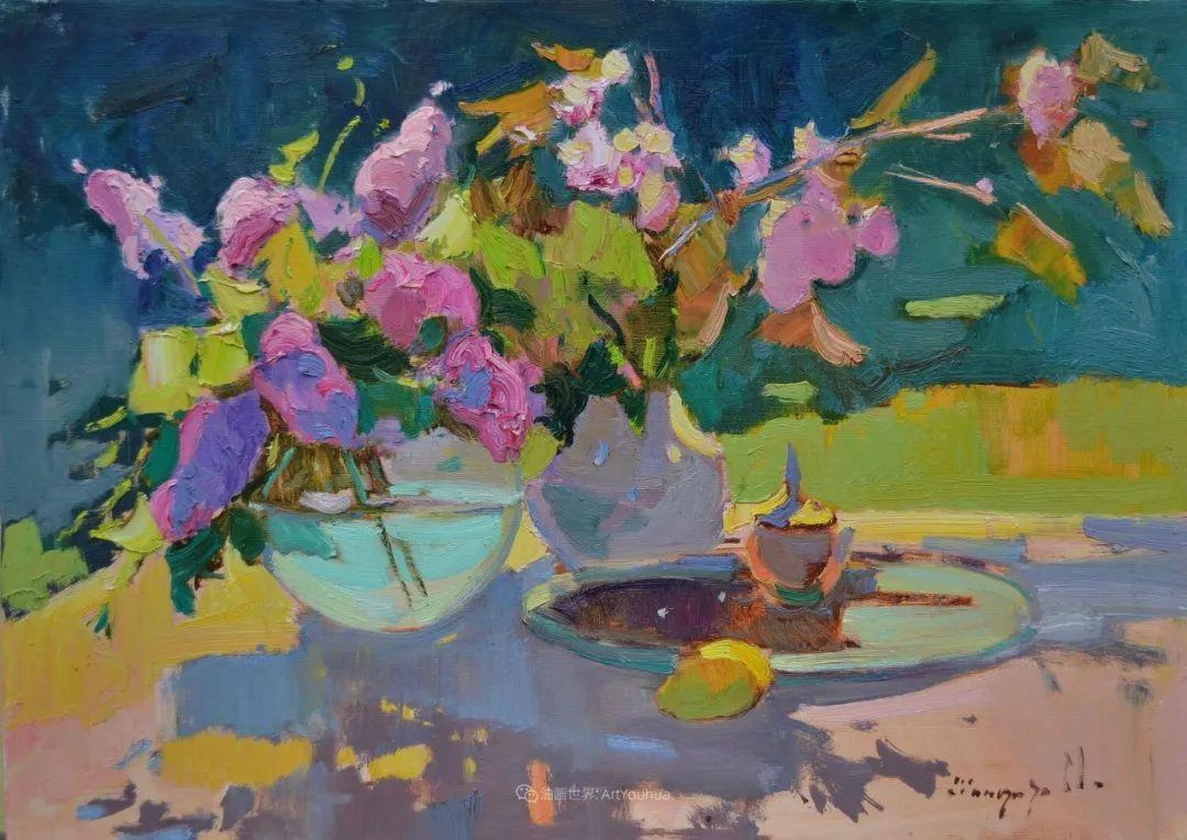 迷人的色彩,冷暖的碰撞,静物与花卉!插图113