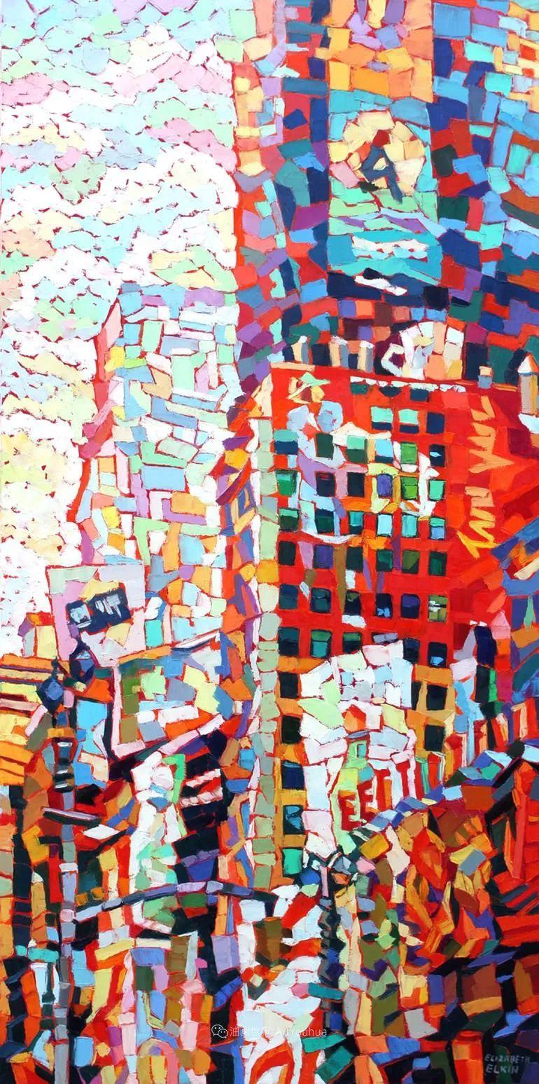 充满活力的色彩,大笔触风景与建筑,!(下)插图9