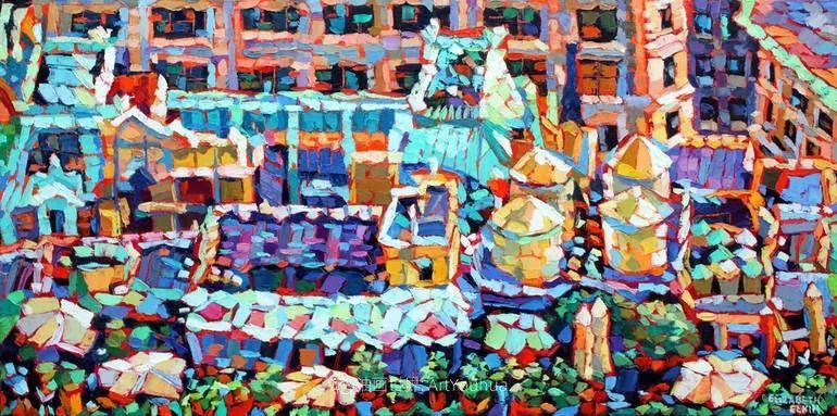 充满活力的色彩,大笔触风景与建筑,!(下)插图41