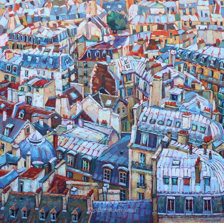 充满活力的色彩,大笔触风景与建筑,!(下)插图77