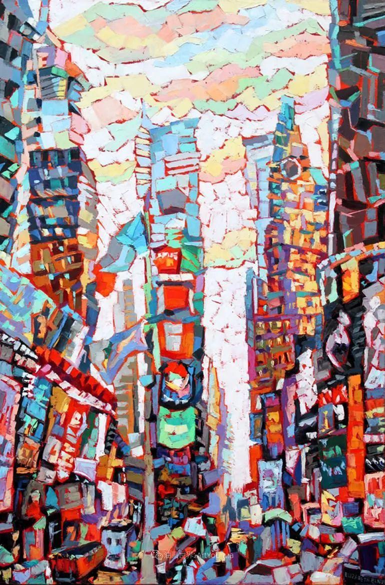 充满活力的色彩,大笔触风景与建筑,!(下)插图83