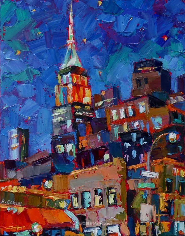 充满活力的色彩,大笔触风景与建筑,!(下)插图87