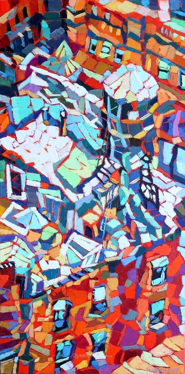 充满活力的色彩,大笔触风景与建筑,!(下)插图101