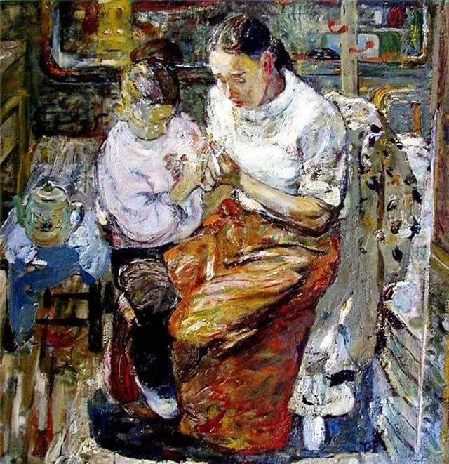 当代女性画家(刘虹 阎萍 喻红 夏俊娜)代表画作插图41