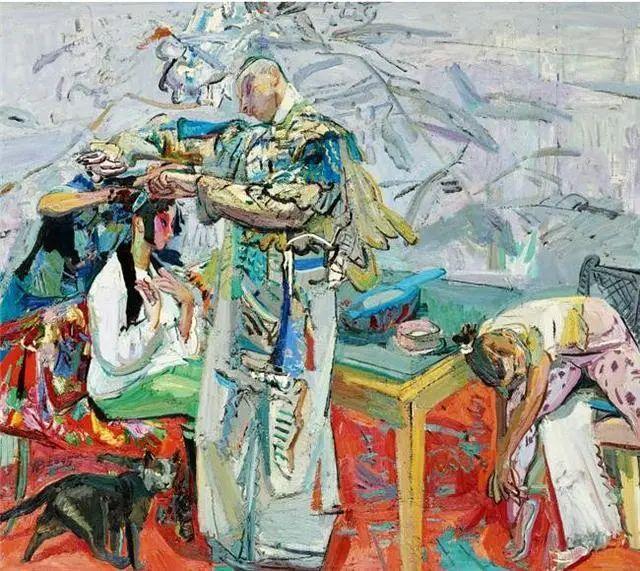 当代女性画家(刘虹 阎萍 喻红 夏俊娜)代表画作插图49