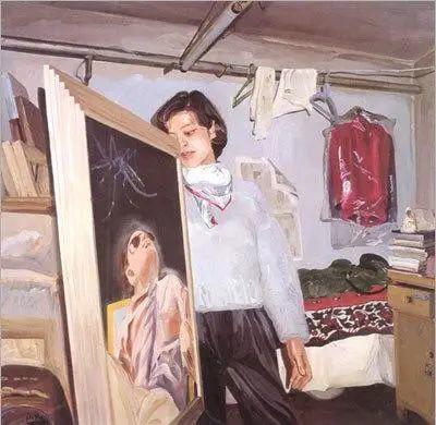 当代女性画家(刘虹 阎萍 喻红 夏俊娜)代表画作插图69
