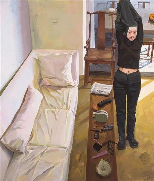 当代女性画家(刘虹 阎萍 喻红 夏俊娜)代表画作插图79