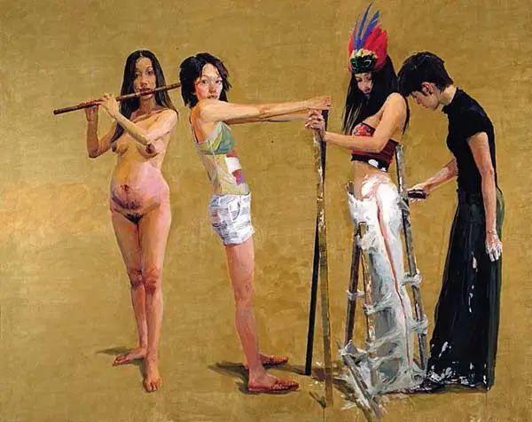 当代女性画家(刘虹 阎萍 喻红 夏俊娜)代表画作插图83