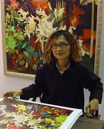 当代女性画家(刘虹 阎萍 喻红 夏俊娜)代表画作插图89