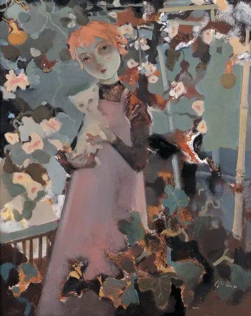 当代女性画家(刘虹 阎萍 喻红 夏俊娜)代表画作插图91
