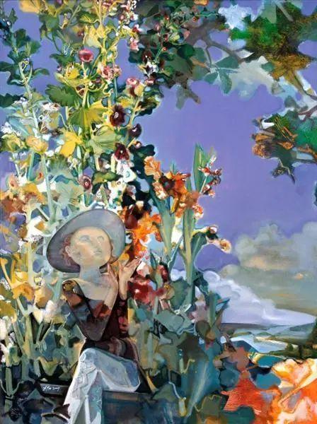 当代女性画家(刘虹 阎萍 喻红 夏俊娜)代表画作插图103