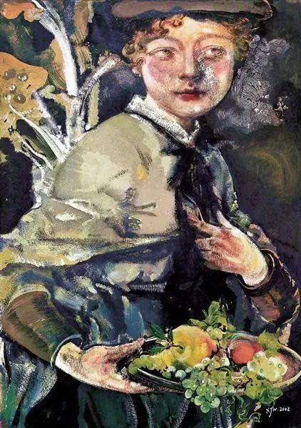 当代女性画家(刘虹 阎萍 喻红 夏俊娜)代表画作插图115