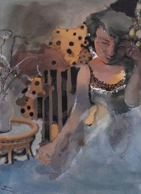 当代女性画家(刘虹 阎萍 喻红 夏俊娜)代表画作插图117