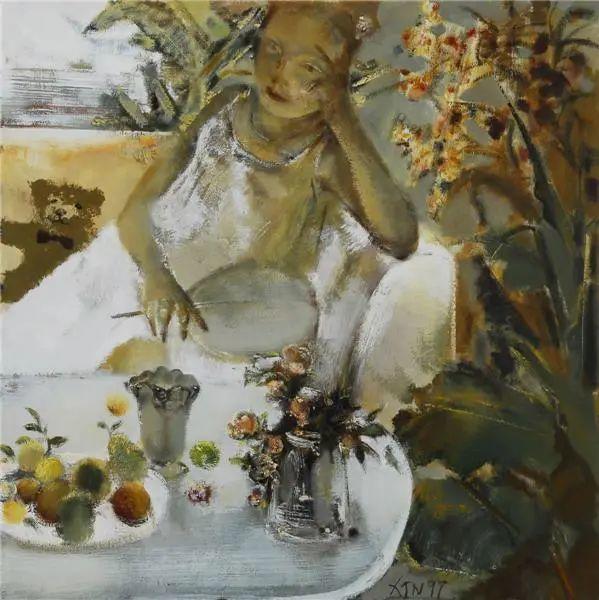 当代女性画家(刘虹 阎萍 喻红 夏俊娜)代表画作插图123