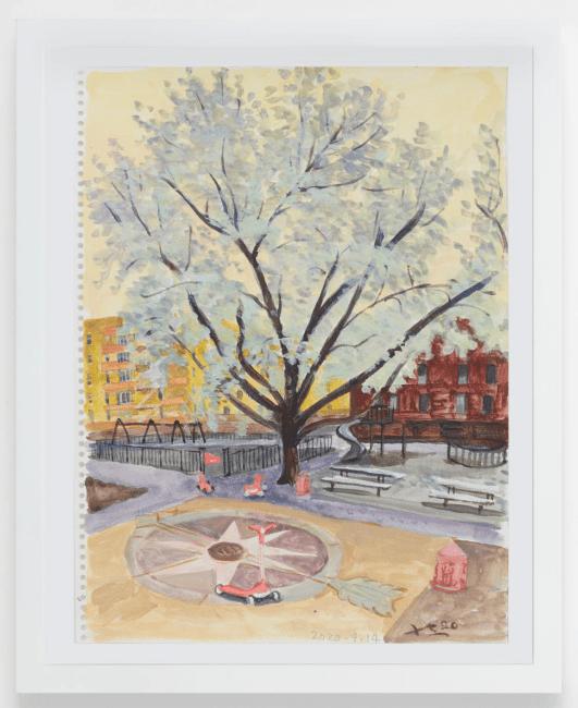 刘小东个展 | 纽约之春,最新作品欣赏插图25