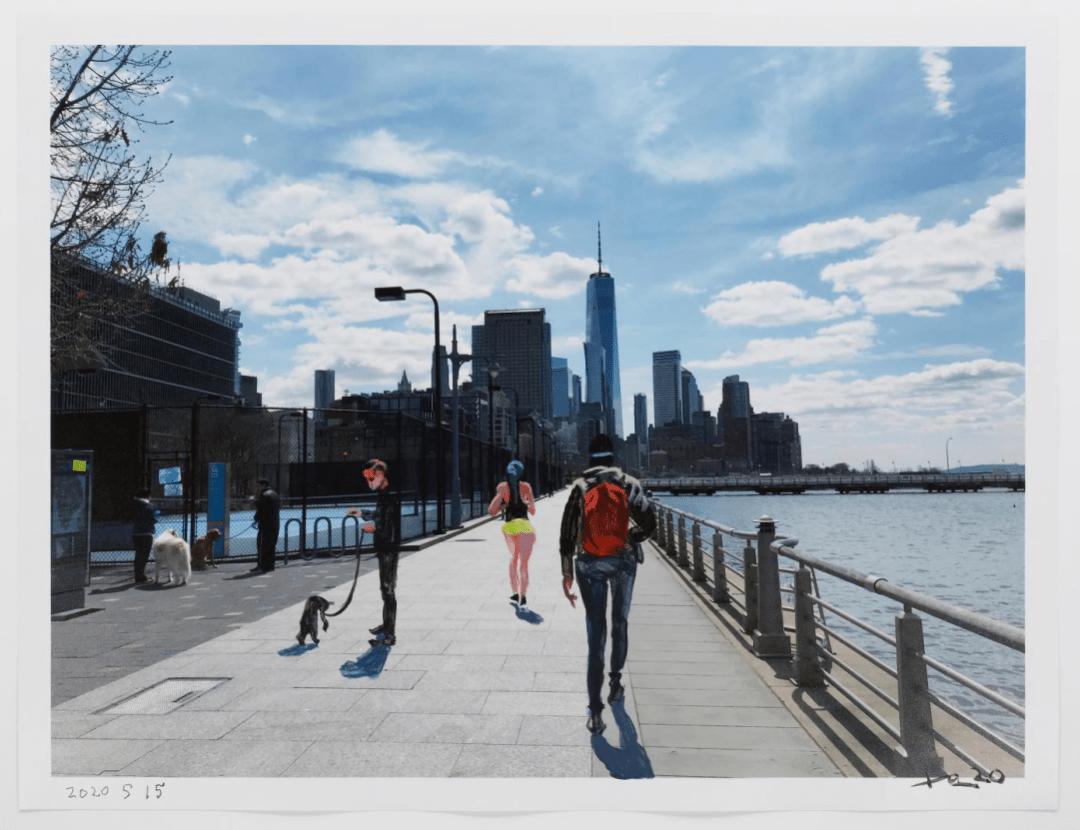 刘小东个展 | 纽约之春,最新作品欣赏插图29