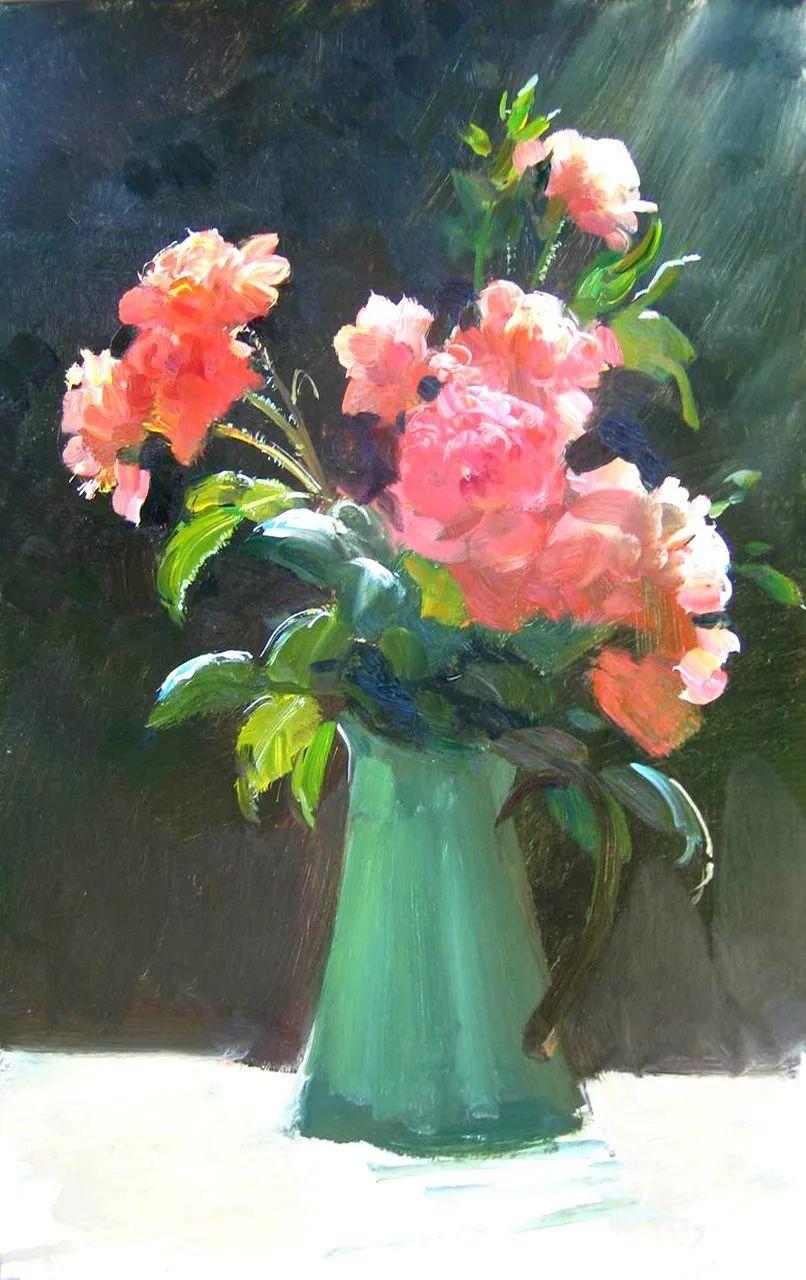 花卉示范画,作品六插图19